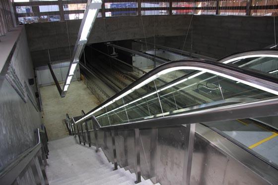 La estación del Metro en Cavaleri