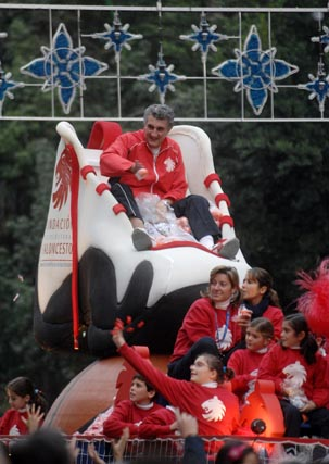 Accidentada Cabalgata de Reyes