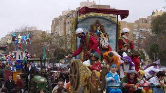 Los Reyes Magos en los barrios