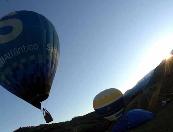 Un paseo en globo por Granada
