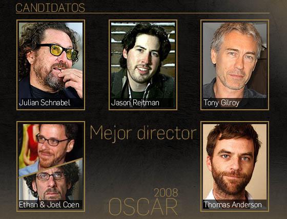 Candidatos a los Oscar