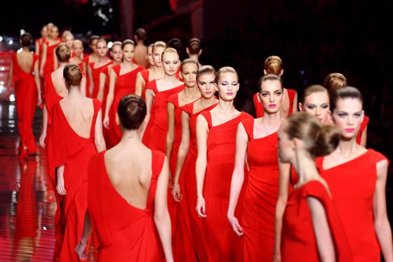 El último desfile de Valentino