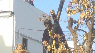 El Nazareno de La Algaba amanecerá en la Plaza