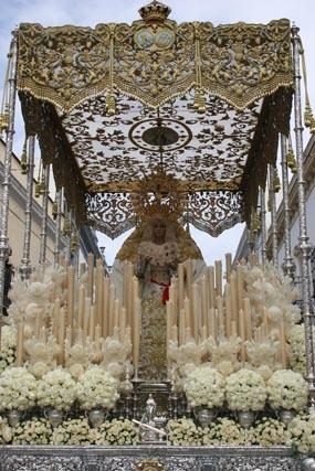 Lebrija acude el Viernes Santo para velar al yacente