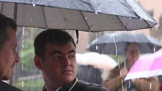 La lluvia fractura el Jueves Santo