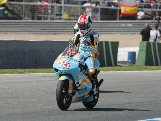Victoria por sorpresa de Kallio en 250cc