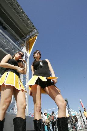 Las chicas del GP de España