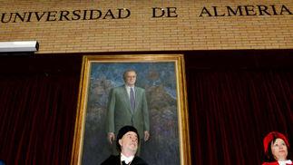 Galería gráfica: Gines Morata, Doctor Honoris Causa de la UAL