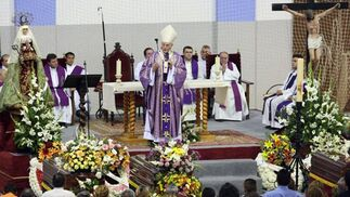 Funeral de las víctimas del incendio en Écija