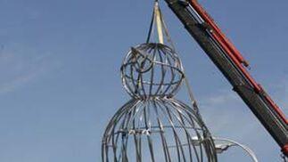 El montaje paso a paso del pájaro-jaula