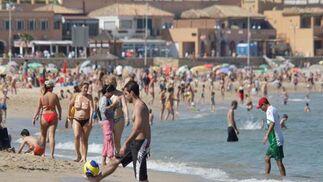 Días de playa en el Campo de Gibraltar