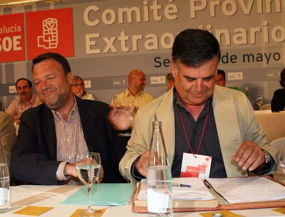 Tensión en el PSOE