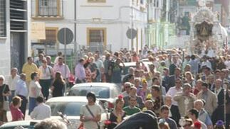Salida de Sevilla Sur hacia El Rocío