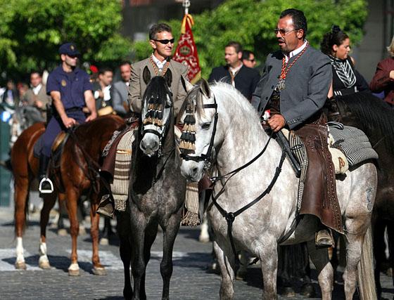 Emigrantes camina hacia El Rocío 2008