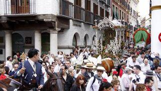 La hermandad de Sevilla, desde El Salvador