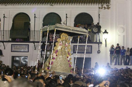Salto de la reja y procesión de la Virgen 2008
