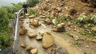 Terremoto en China