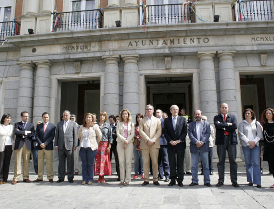 Huelva se concentra en repulsa a ETA