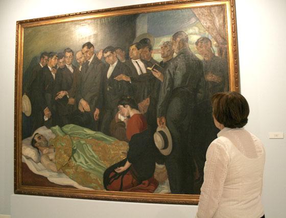 Vázquez Díaz vuelve al Museo