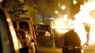 20-N en Granada: Radicales de izquierda causan disturbios