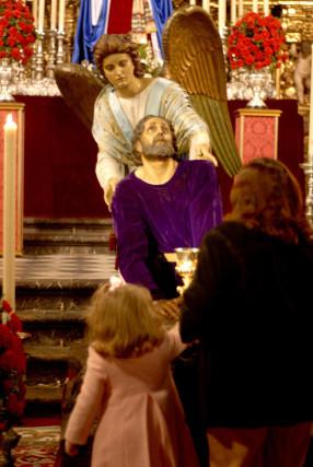 Nuestro Padre Jesús Orando en el Huerto, en Santo Domingo.  Foto: Tamara Sánchez