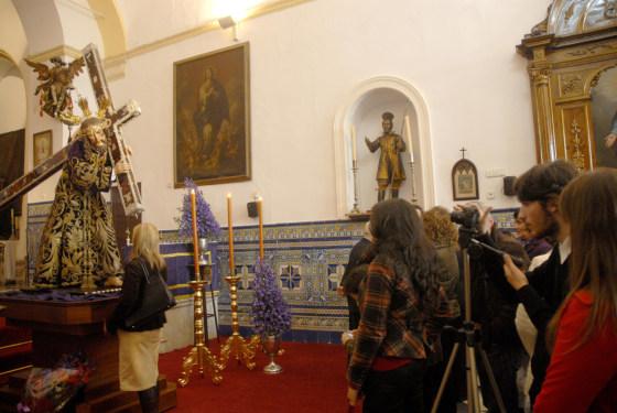 Nuestro Padre Jesús Nazareno, en San Juan de Letrán.  Foto: Tamara S?hez
