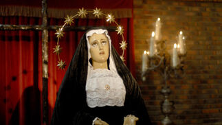 Nuestra Señora del Amor y Sacrificio, en la parroquia de Madre de Dios.  Foto: Tamara Sánchez