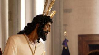 Nuestro Padre Jesús en su Soberano Poder, en la parroquia de La Granja.  Foto: Tamara Sánchez