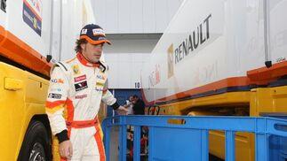"""Alonso, sobre el comportamiento del KERS opinó que """"aún no nos está dando demasiados problemas, así que esperamos comenzar el campeonato con él"""".  Foto: J. C. Toro"""