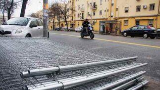 Las calles afectadas están preparadas para las obras.  Foto: Victoria Hidalgo
