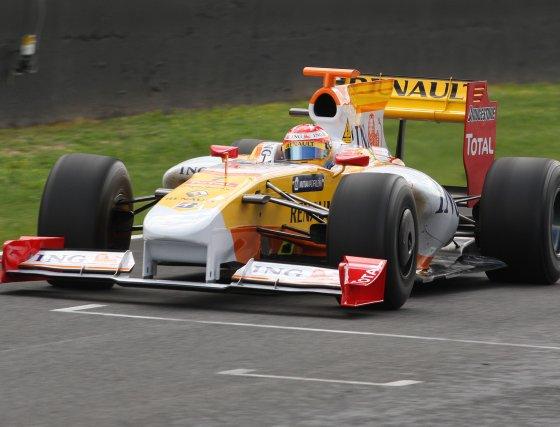 El piloto español declaró, tras los entrenamientos, sentirse optimista con vistas al comienzo del mundial.  Foto: J. C. Toro
