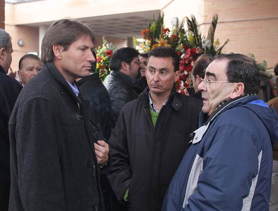 Pedro Peso, Carlos Gómez, y Luis Bueno.  Foto: Pepe Torres