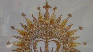 Boceto de corona.  Foto: J.P.