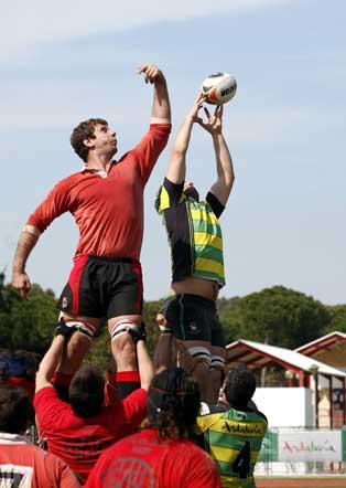 El Club de Rugby Atlético Portuense escribió la página más brillante de su historia al clasificarse para la fase de ascenso a la División de Honor  Foto: Fito Carreto