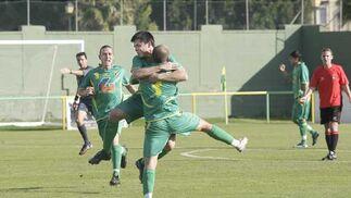 La Unión supera su bache de resultados con una victoria por la mínima sobre el Ayamonte  Foto: Erasmo Fenoy