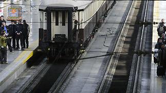 Rodaje del filme 'Knight&Day' en la estación de Santa Justa.  Foto: Juan Carlos Vázquez
