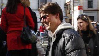 Tom Cruise, en la Plaza de Pilatos.  Foto: Victoria Hidalgo