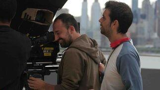 Alexis Morante, junto a un cámara. / J.D.