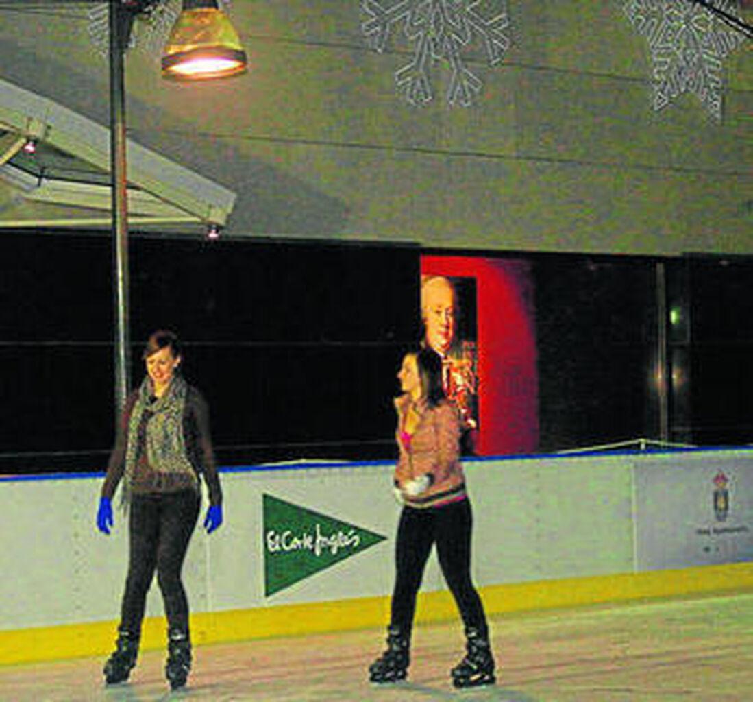 Para esta Navidad, patinaje sobre hielo
