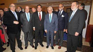 Guillermo Sierra, Antonio Ponce, Antonio Pulido, Antonio Pascual, José María O'Kean y Salvador Blanco.  Foto: Juan Carlos Vázquez / Belén Vargas/ Manuel Gómez