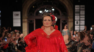 Sandra Ibarra - Desfile solidario - We Love Flamenco 2016