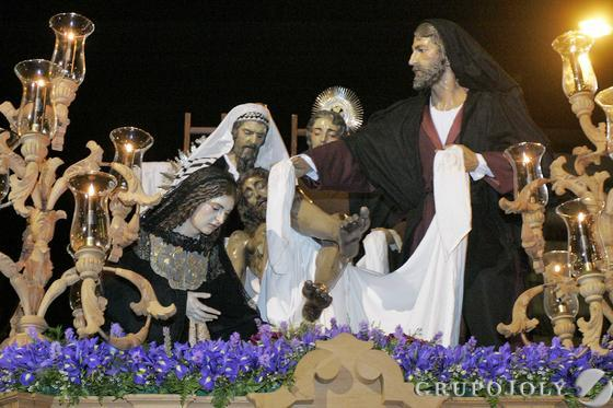 Cristo de la Caridad  Foto: Rafael Gonzalez