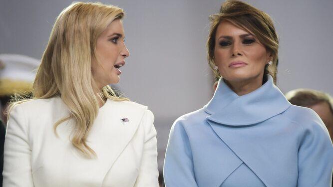 Melania Trump elige un modelo clásico estilo Kennedy b58909504de2
