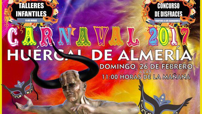 Cartel anunciador del carnaval de este año.