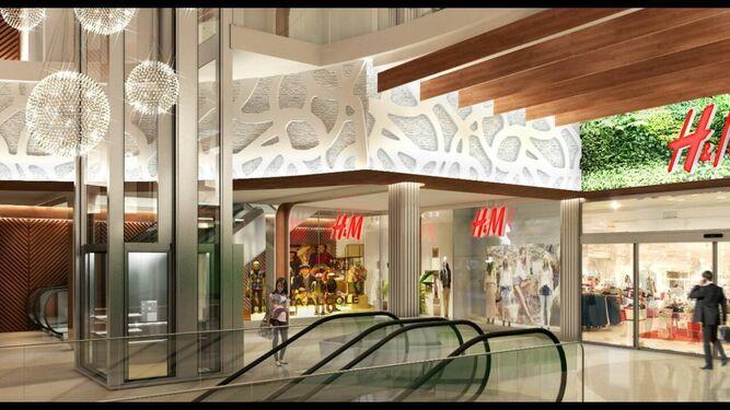 Copo adelanta a marzo la apertura de su paseo de la moda - Centro comercial el ejido ...