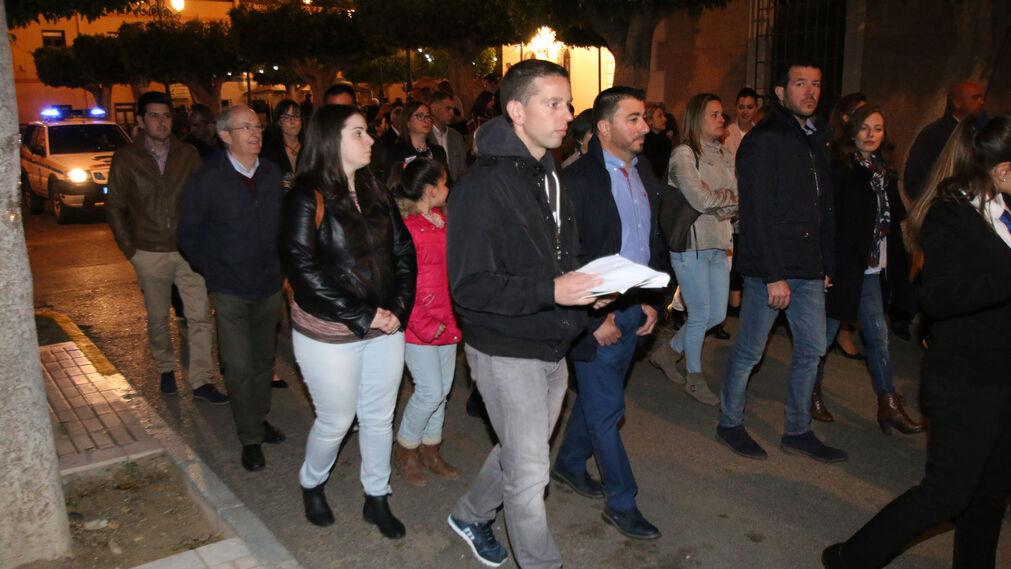 Las imágenes de las fiestas en honor a San José en Benahadux