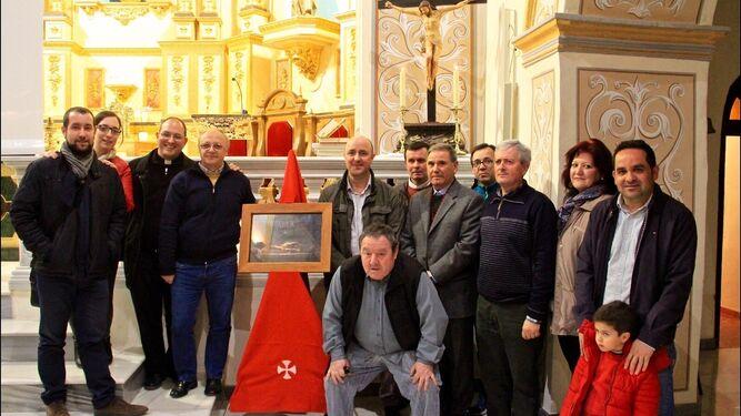 El acto se celebró el viernes en la Iglesia de la Anunciación.