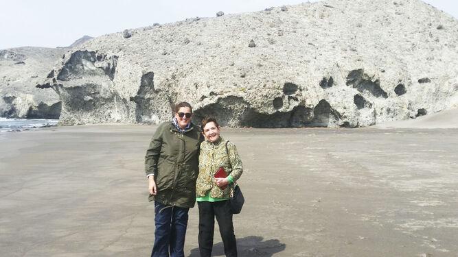 Las playas del Parque Natural también fueron objetivo de la editora.