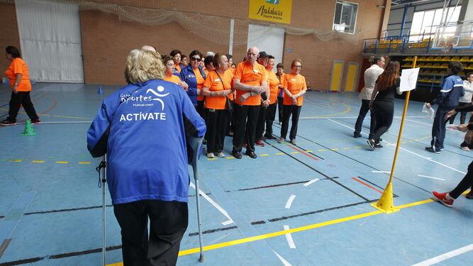 La edad y la condición no impide la práctica deportiva, siempre adaptada a las necesidades.