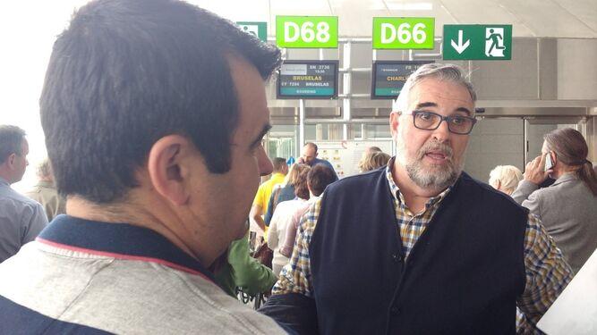 La Mesa del Ferrocarril, en Bruselas para pedir por el tren